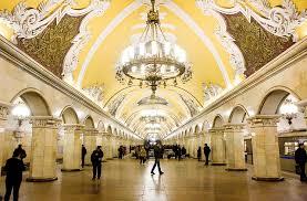 30 fotos que explican la razón por la que el metro de Moscú parece ...